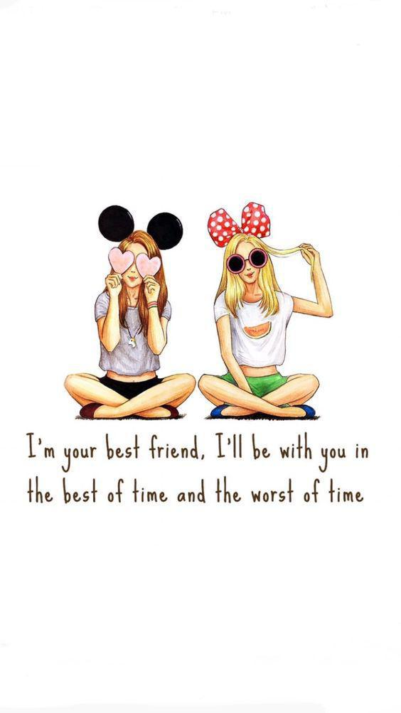 Girls friendship quotes for 151 Short