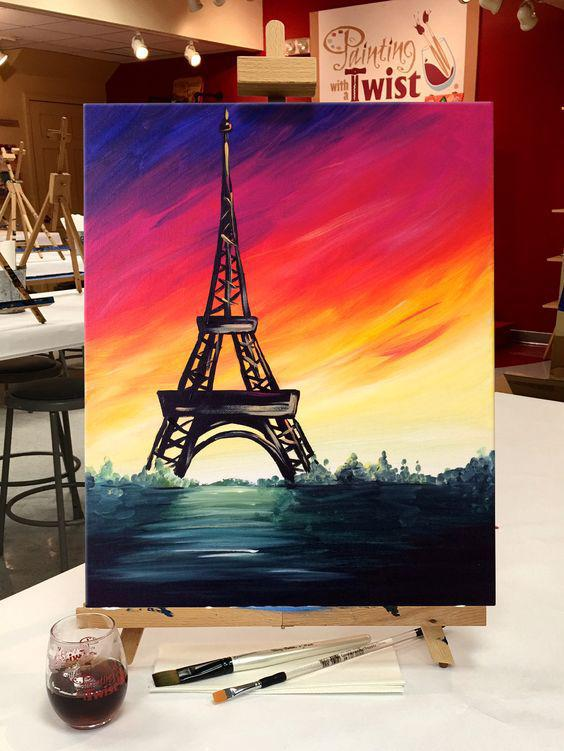 Easy Painting Ideas On Canvas Diy Painting Canvas Acrylic Painting Ideas Painting Ideas On Canvas For Beginners Canvas Painting Ideas For Kids Imtopic